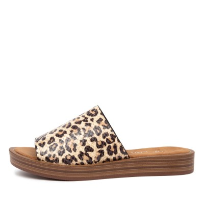 Top End Faron Ocelot Sandals