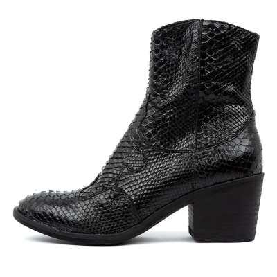 Top End Mozelle Black Boots