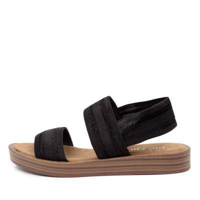 Top End Fabby To Black Sandals