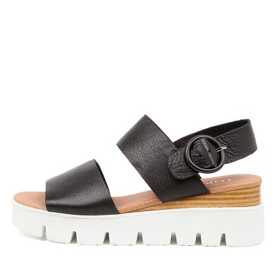 Top End Robbson To Black White Sole Sandals