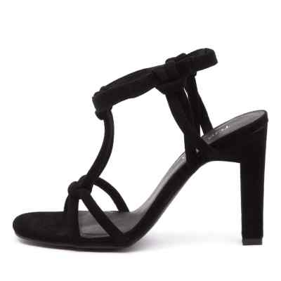Top End Merry Black Sandals