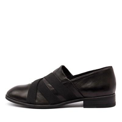 Top End Casius Black Shoes