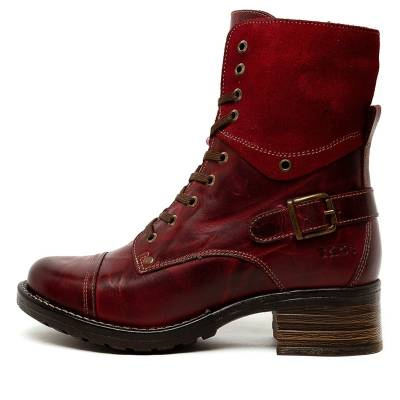 Taos Crave Red Boots