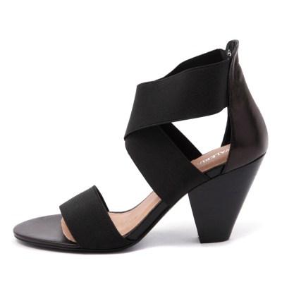Valeria Grossi Macklin W Black Sandals