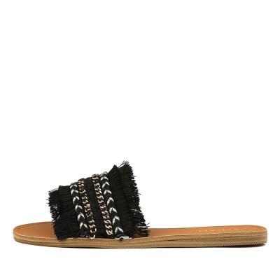 Verali Tobi Black Sandals