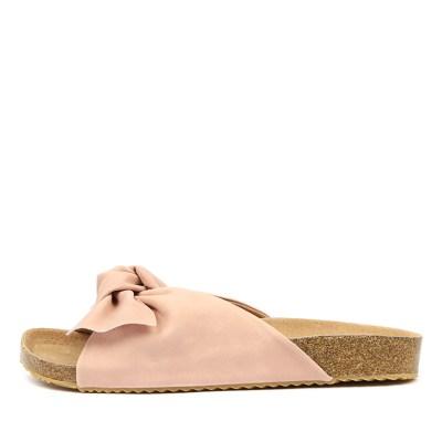 Walnut Somerset Slide Pink Sandals