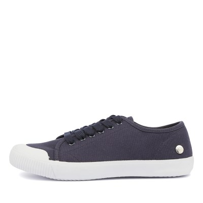 Walnut Empire Canvas Blue Sneakers