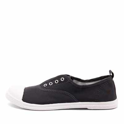 Walnut Euro Plimsole Midnight Sneakers