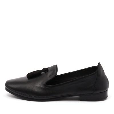 Zensu Famous Black Shoes Womens Shoes Casual Flat Shoes