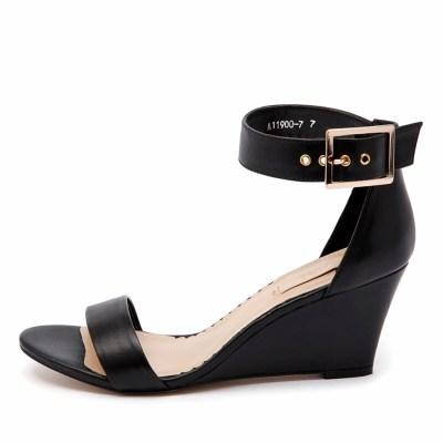 Siren Jonas Black Sandals