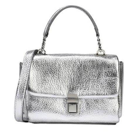 Yoox 8 Silver Handbag