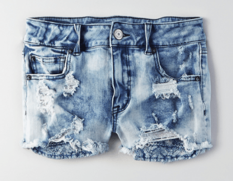 AEO Denim X$ Hi-RIse Shortie