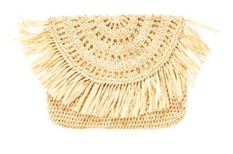 Mar y Sol Mia Straw Clutch