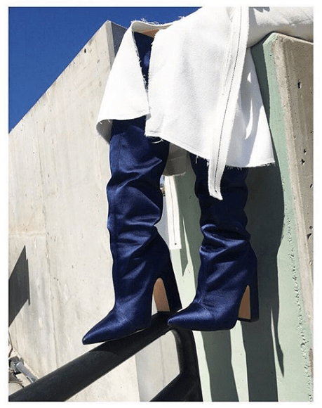 Affordable Slouch Boots To Love Like Rihannas YSL Crystal Boots