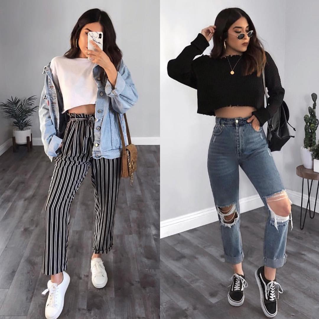 Teens Fashion Outfits Cute Outfits Mom Jeans Casual Wear
