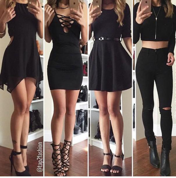 polyvore party outfit ideas