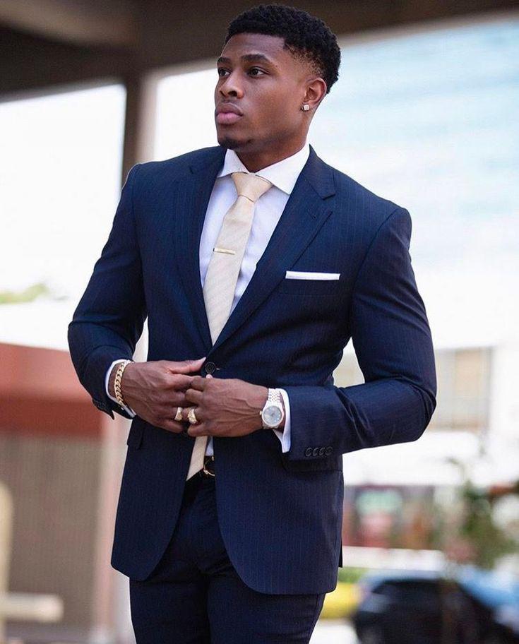 black men suits black