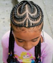 cute hairstyles black little