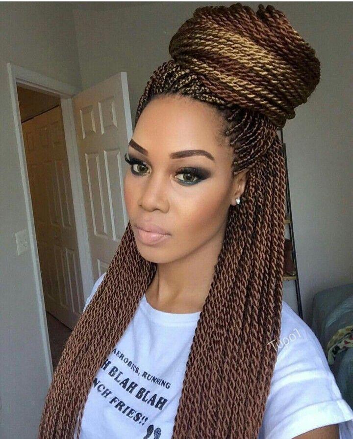Senegalese Twist Hair On Stylevore