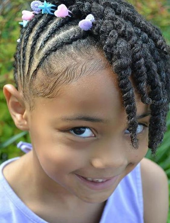 Braided Hairstyles A For Little Black Girls 2019 On Stylevore