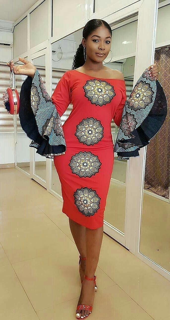 Dazzling Ankara Short Gowns for Wedding 2020/2021