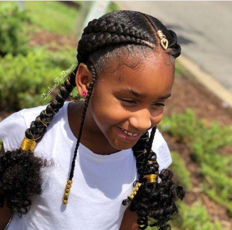 Hairstyles For Black Kids Box Braids Box Braids Hairstyles Kids