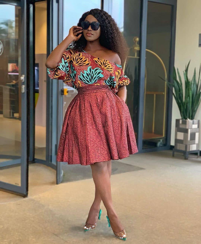 African print dress styles, African Dress | Short African ...