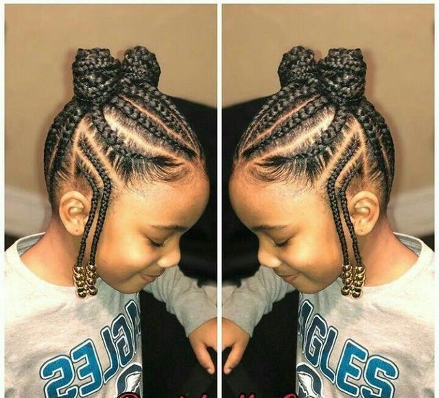 Little Black Girl Braided Hairstyles Fulani Braids Hairstyles
