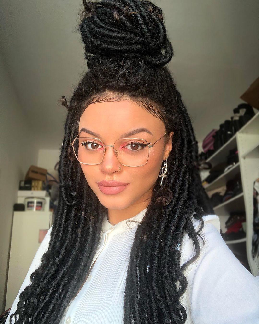 Sina Iuna Braid Outfits For Girls Black Natural Hair Hairstyles