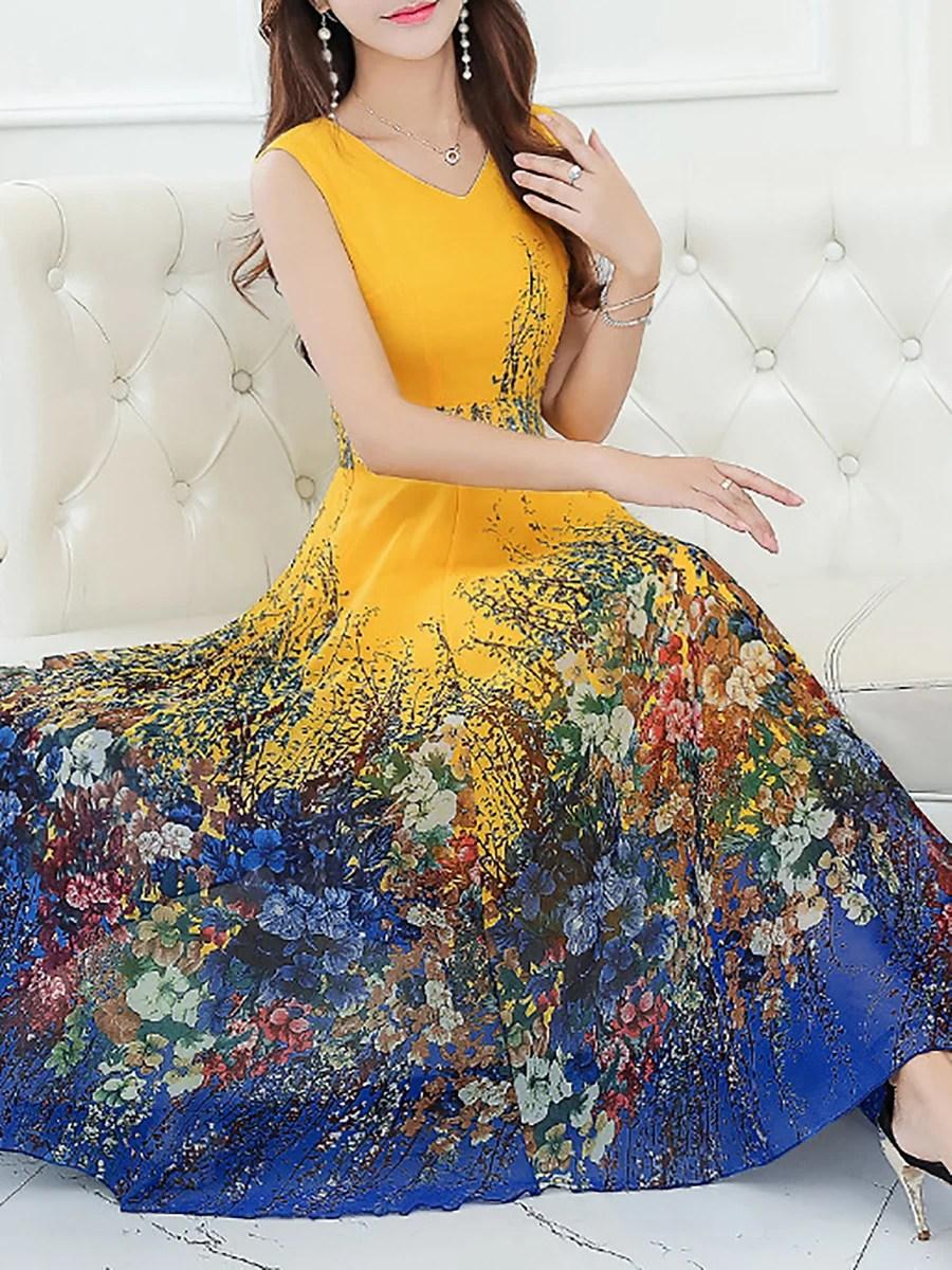 Stylewe Summer Dresses Casual Dresses Daytime ALine V