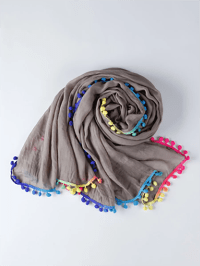 Cotton Casual Solid Scarf - StyleWe.com