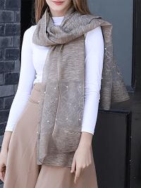 Casual Silk Fall Scarf - StyleWe.com