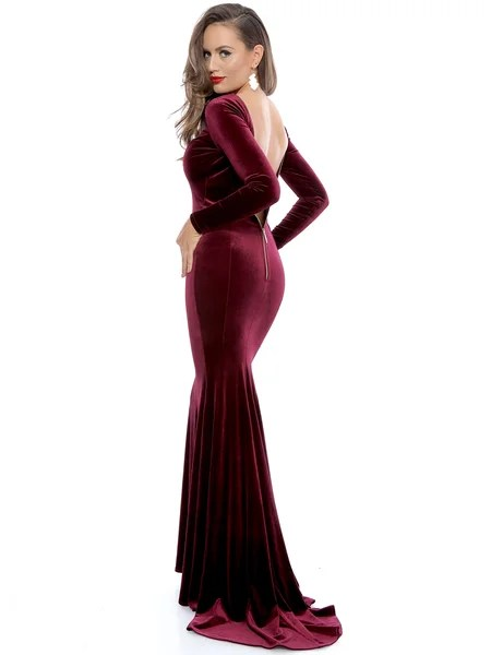 Velvet dress, NYE outfit ideas