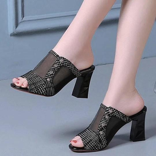 summer daily chunky heel