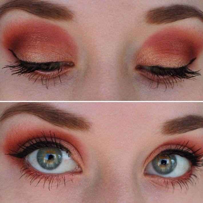 best eyeshadow colors for green eyes | style wile
