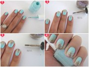 ombr nails home