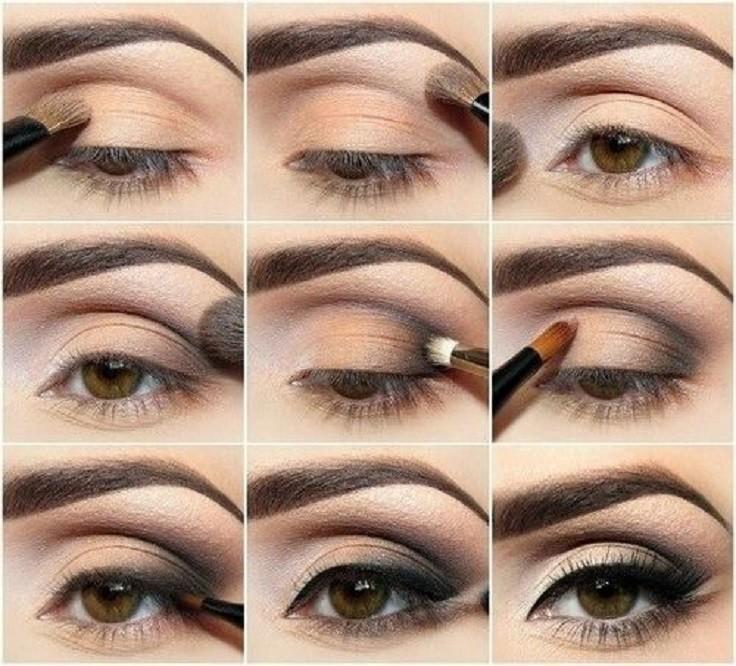 Smokey Eye Makeup Brown Eyes Saubhaya