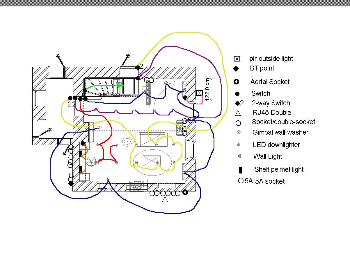 hight resolution of music room electrical layout