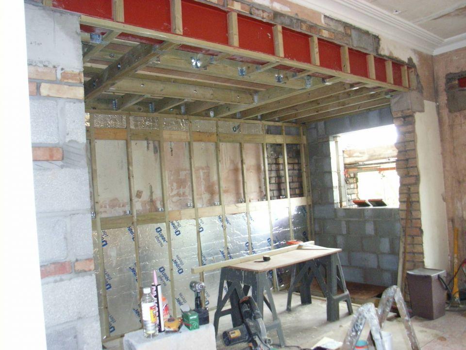 Kitchen Renovation Remove Wall