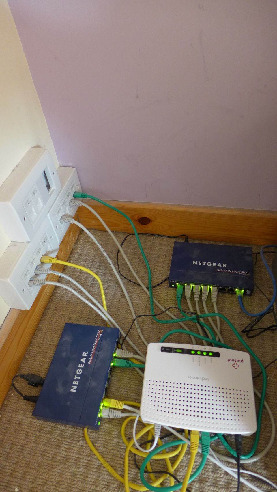 hight resolution of home network hub