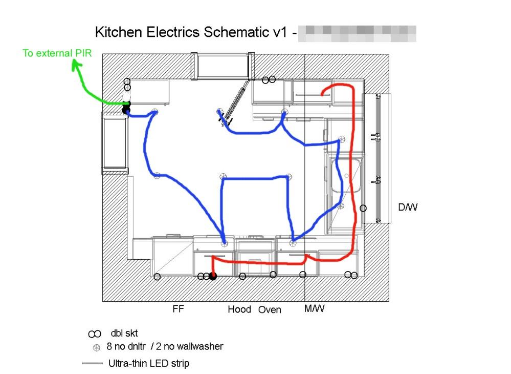 medium resolution of kitchen electrical design