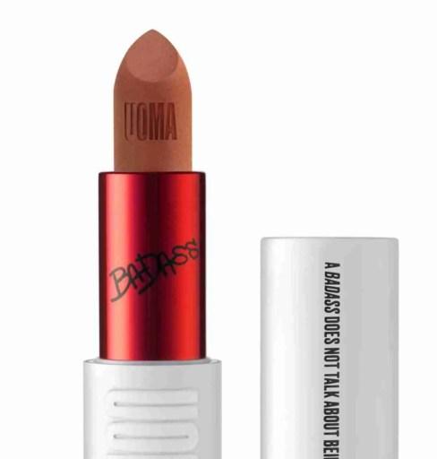 Badass Icon Matte Lipstick by Uoma in Angela