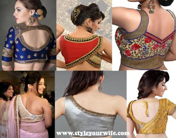 Asymmetrical Blouse Designs Photos