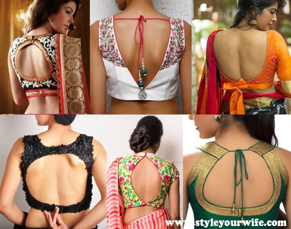 Back Neck Blouse Designs Photos (2)