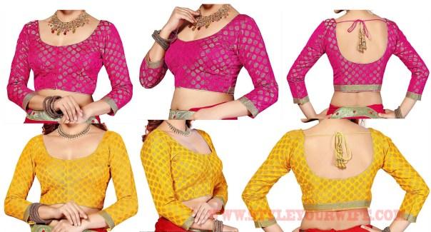 Basic blouse designs photos