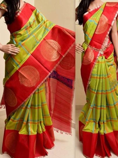 Gorgeous Silk Saree designs