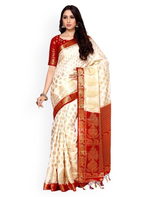 Silk-Saree-Kanjeevaram--Style-Color-Off-White