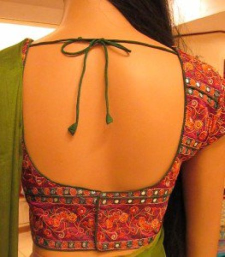 Square back neck