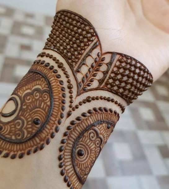 New Easy Arabic Mehndi Design For hands