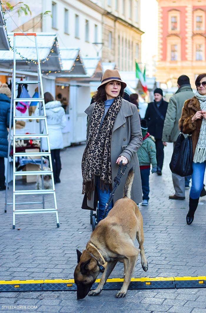Street style moda advent Zagreb